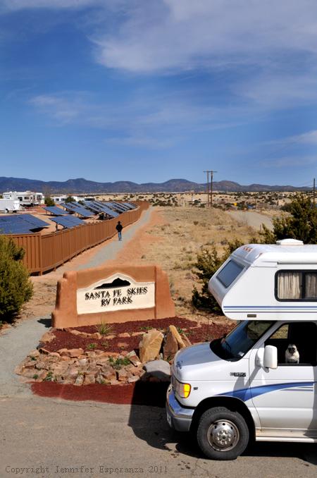 Solar - Santa Fe Skies RV Park - Santa Fe, New Mexico